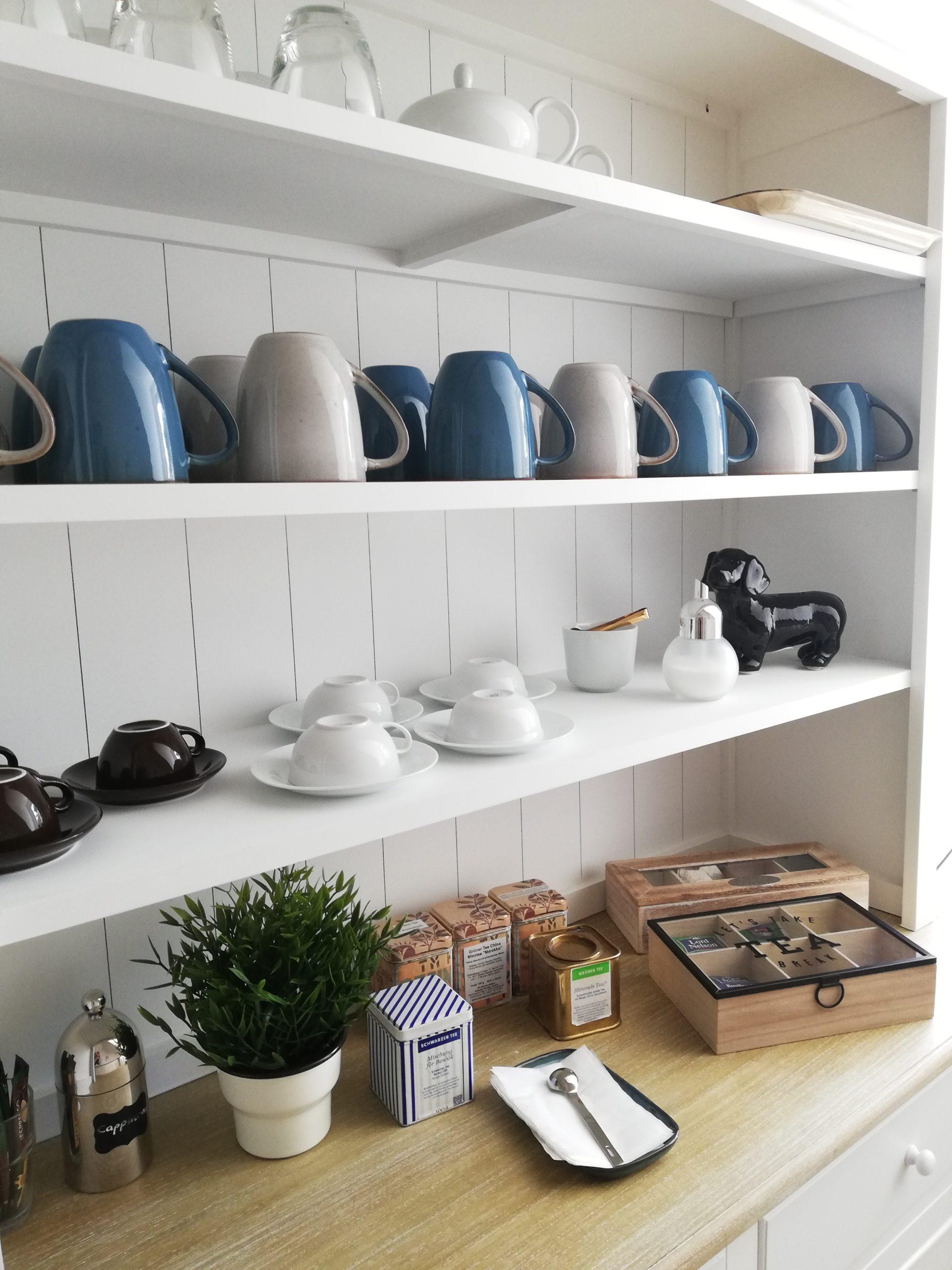 Tee- und Kaffeestation